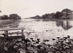The Western City Wall and Moat, [Mandalay]